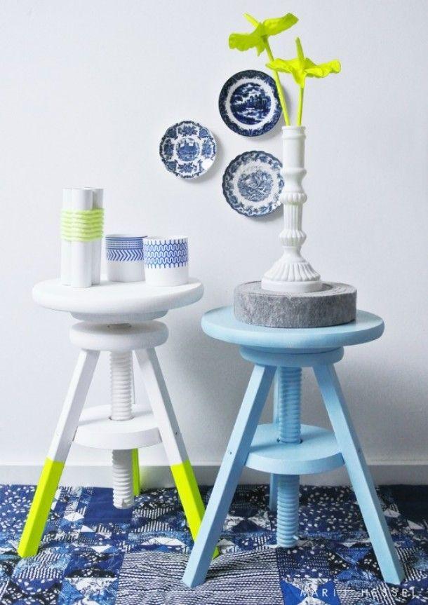 du fluo dans ma d co entre zen et d co. Black Bedroom Furniture Sets. Home Design Ideas