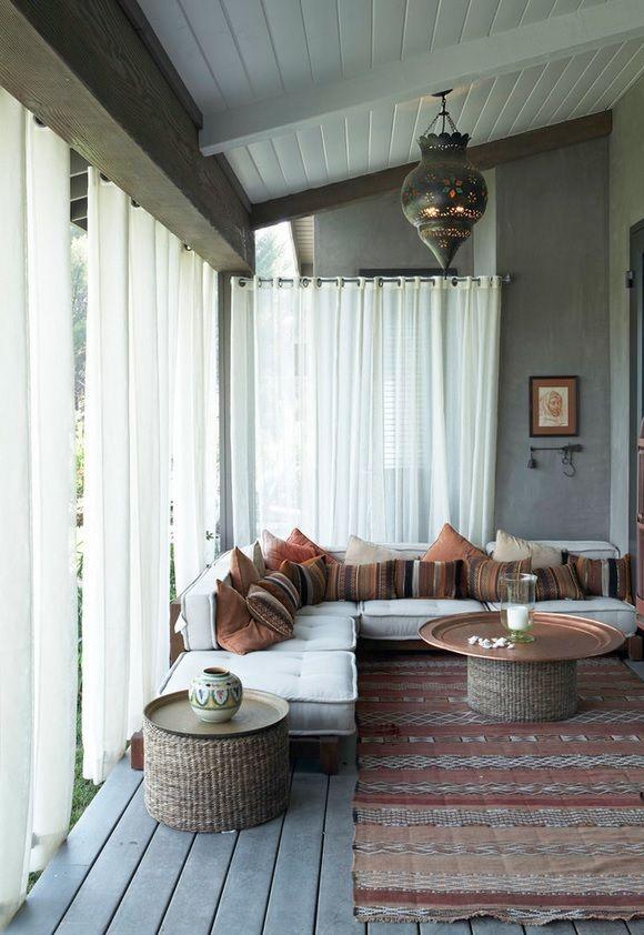 dossier sp cial construire et am nager sa v randa entre zen et d co. Black Bedroom Furniture Sets. Home Design Ideas