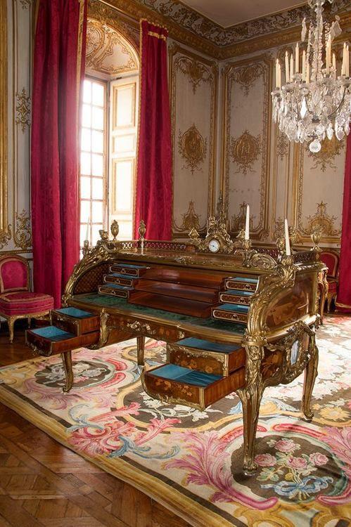 versailles bureau Louis XV