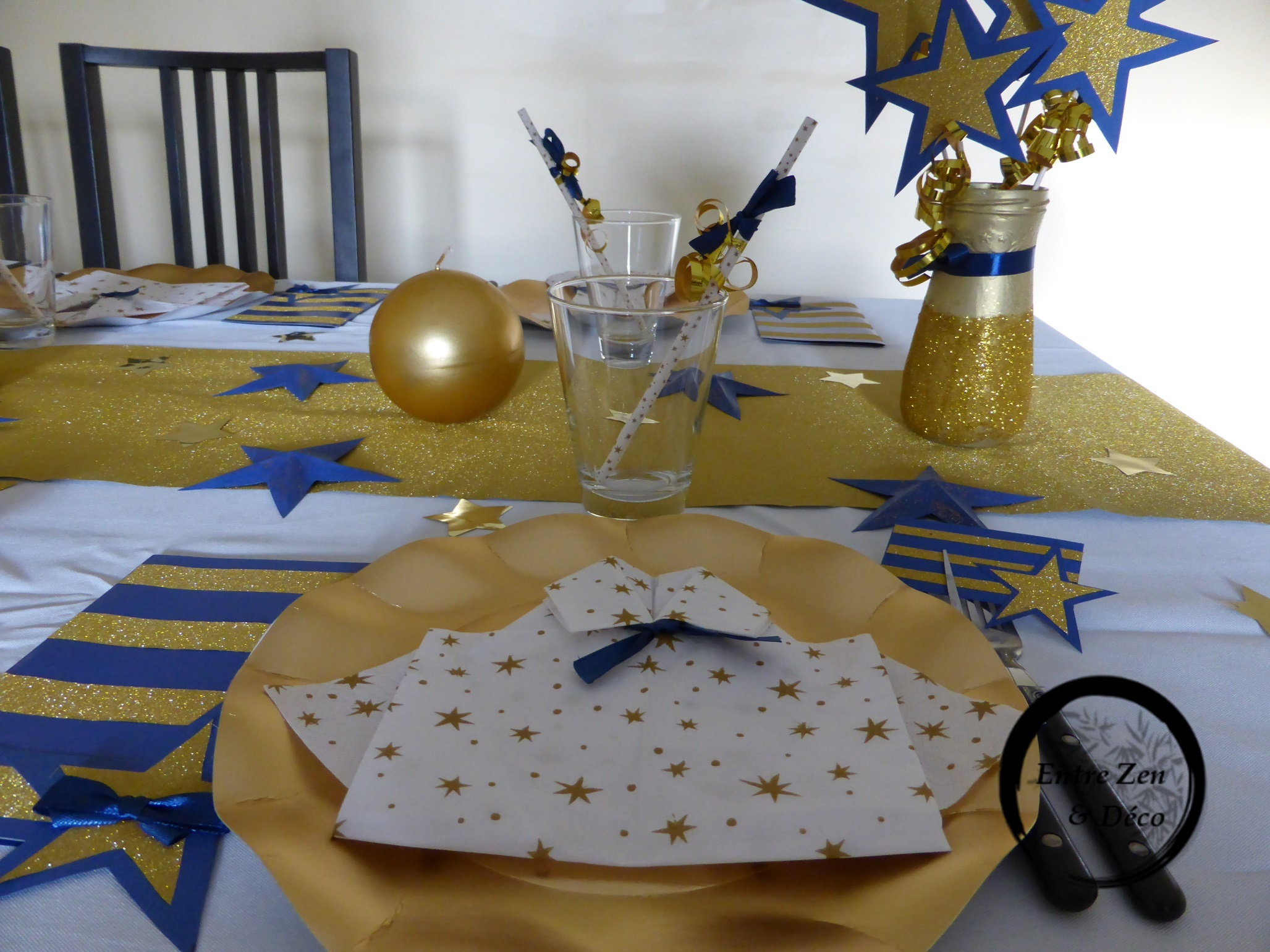 Déco de table nouvel an 2016