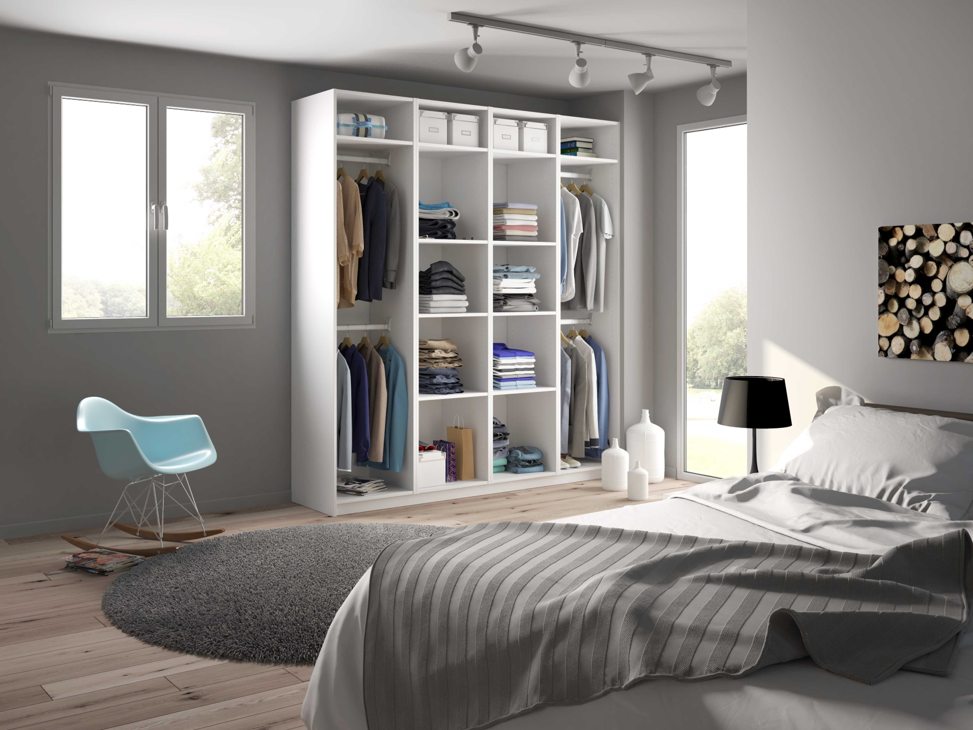 des astuces pour am nager son dressing entre zen et d co. Black Bedroom Furniture Sets. Home Design Ideas