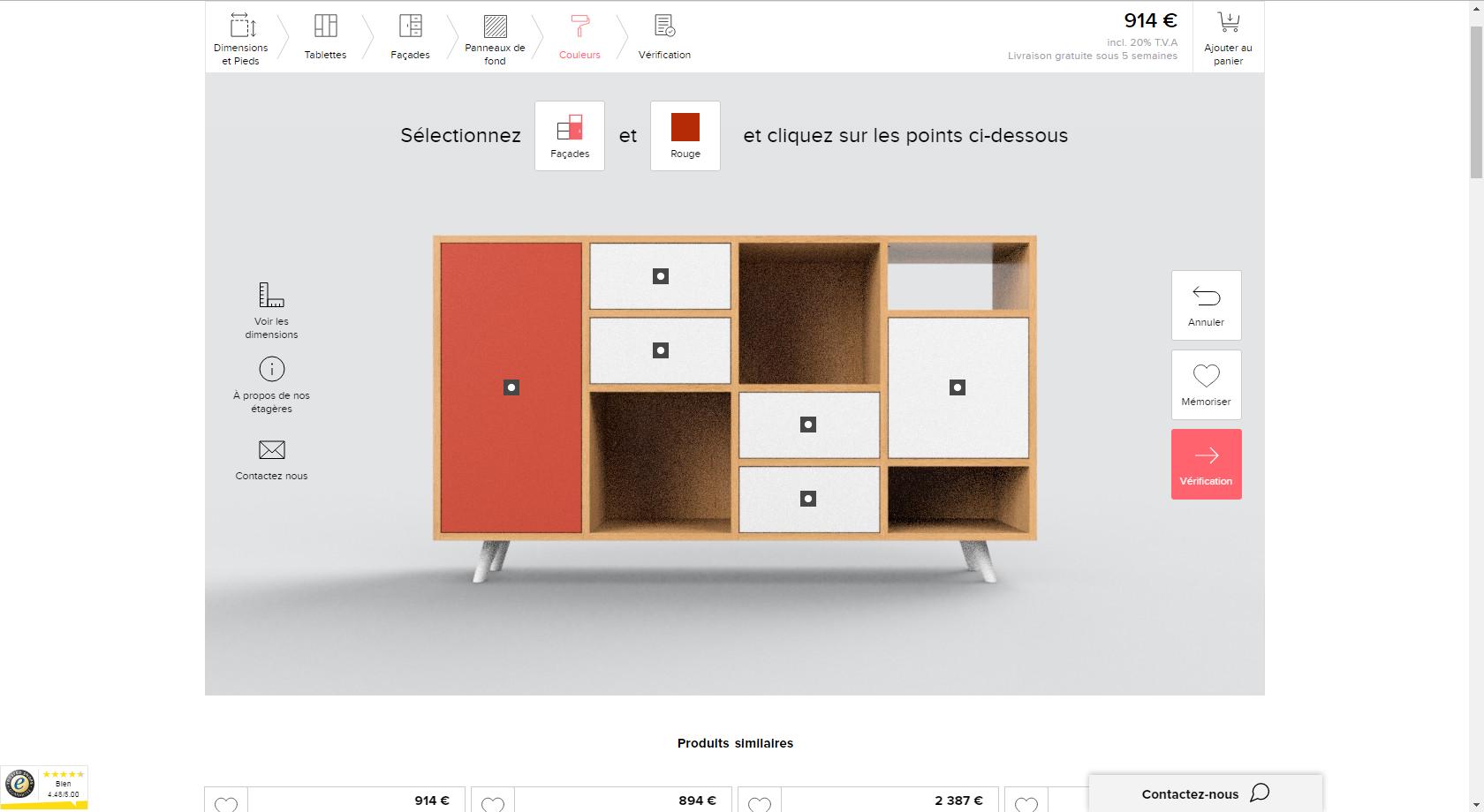 cr ez vos meubles sur mesure avec internet entre zen et d co. Black Bedroom Furniture Sets. Home Design Ideas